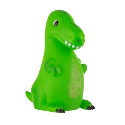 Sass & Bellen hauska vihreä paristokäyttöinen dinosaurus yövalo
