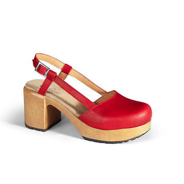 Ruotsalaiset Calou Nelly red punaiset nahkakengät ovat erittäin mukavan tuntuiset jalassa! Näillä kävelee vaikka koko päivän. Kevyen polyuretaanipohjan ansiosta nämä kengät kevyet ja miellyttävät käyttää. Joustava pohja pehmentää askelta.