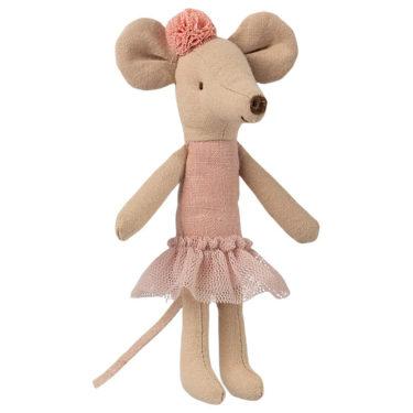 Maileg Ballerina Mouse, Big siter - Mailegin ihana isosisko ballerinahiiri.