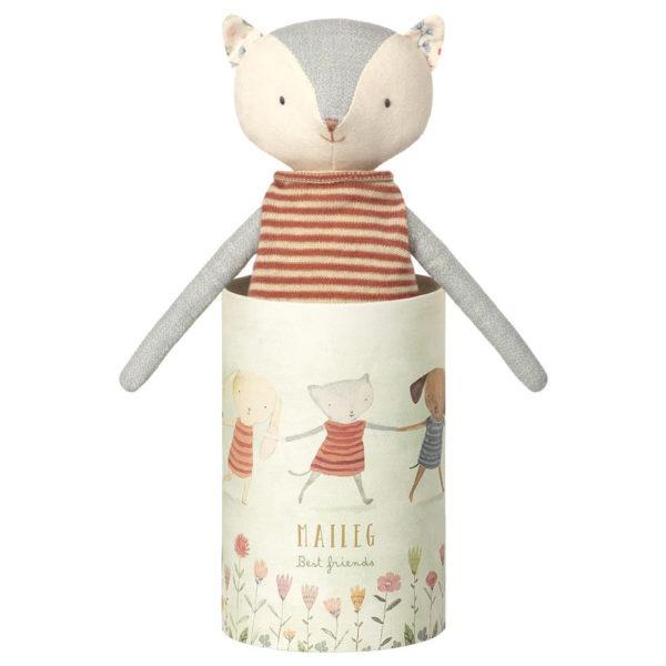 Maileg Best friends kitten - Mailegin suloinen kissa kauniissa pahvisessa purkissa.