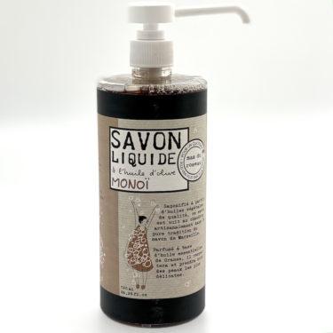 Mas du roseau- ihanan tuoksuinen marseillenestesaippua Monoi.