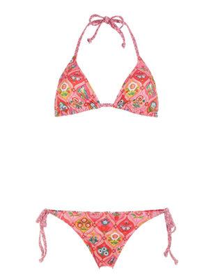 Lola Fairy Tiles pinkki bikinisetti