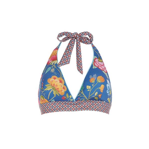 Lie Floral Fantasy tummansininen bikiniyläosa