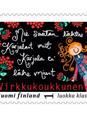 """Postimerkki """"Karjala"""""""