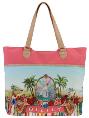 Oilily Tropical Tope Beach Bag