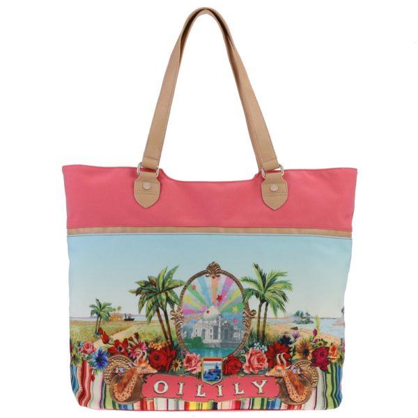 Oilily Tropical Tope Beach Bag