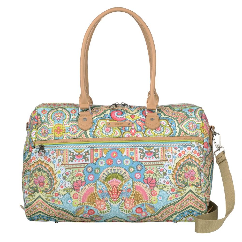 Oilily Spring Ovation Boston Bag