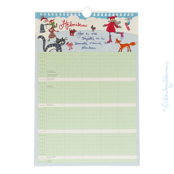 Perhekalenteri 2016