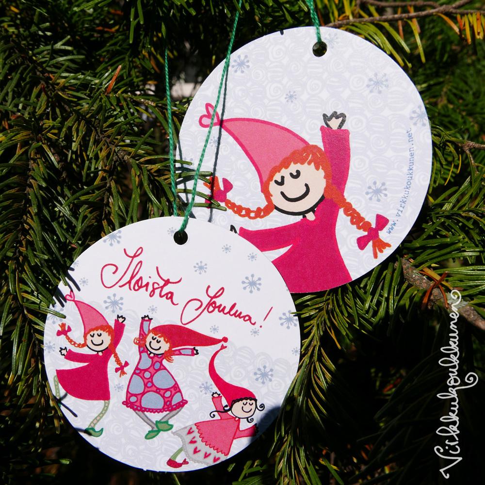 """Kuusenkoriste """"Iloista Joulua!"""""""