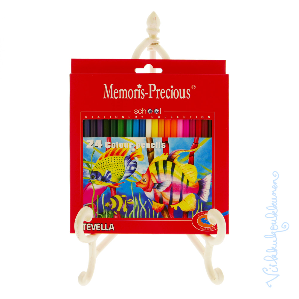 Värityskirja Vol. 1 + kortit ja Tevellan puuvärit