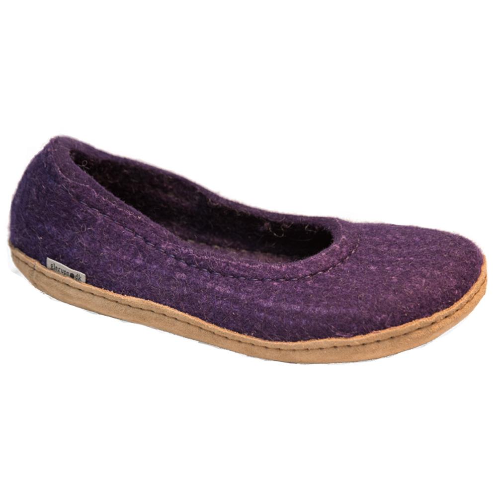 Aikuisten violetit huopaballerinat
