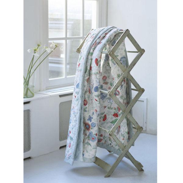 Spring to life valkoinen päiväpeitto 180 x 265 cm