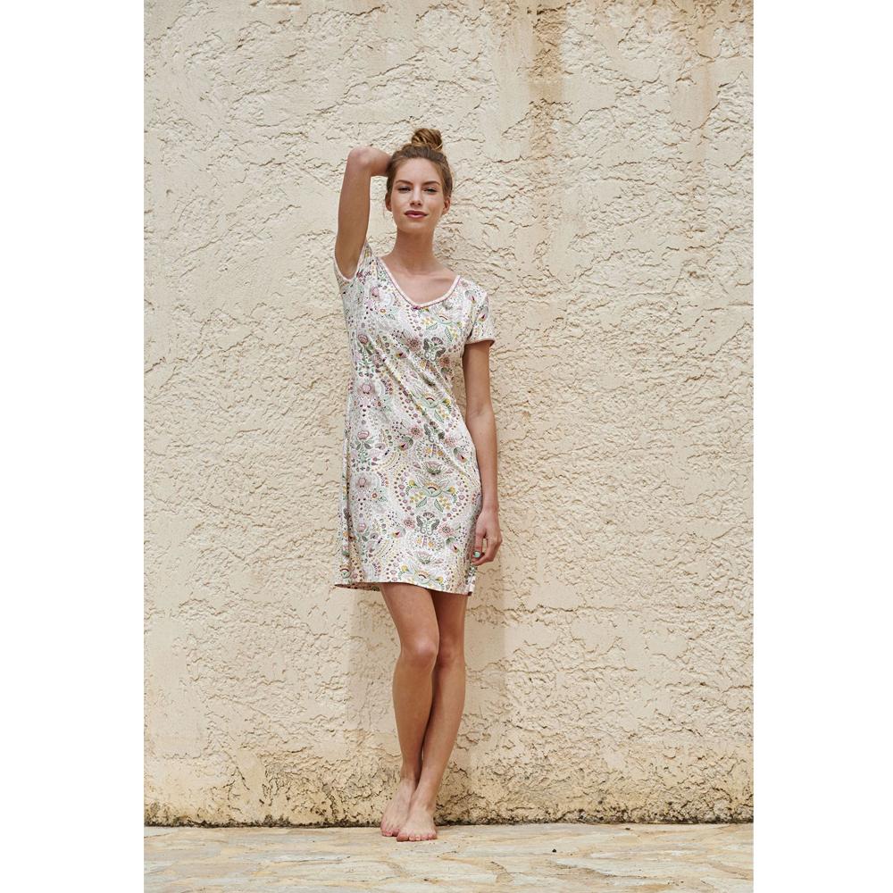 Djoy Sea Stitch pinkki mekko