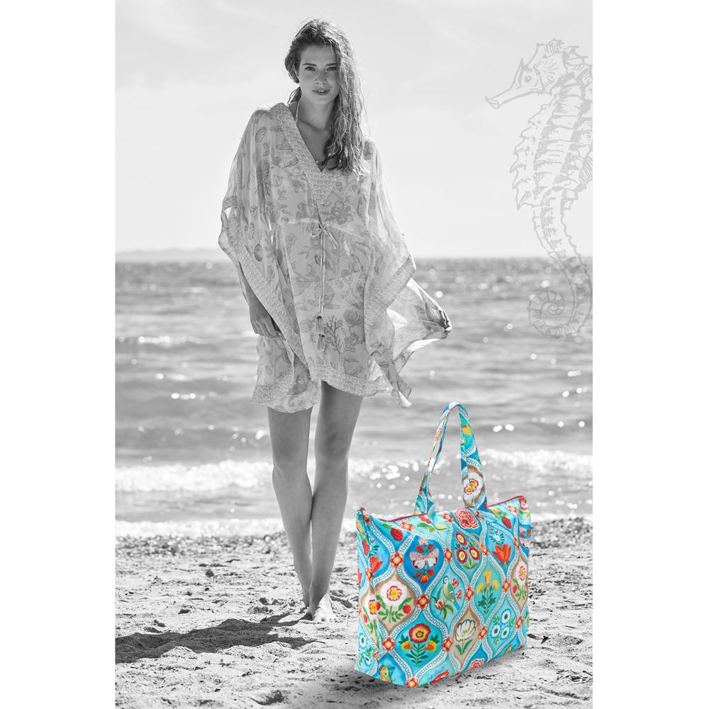 "Pip Studion ""Fairy Tiles"" Beach Bag"