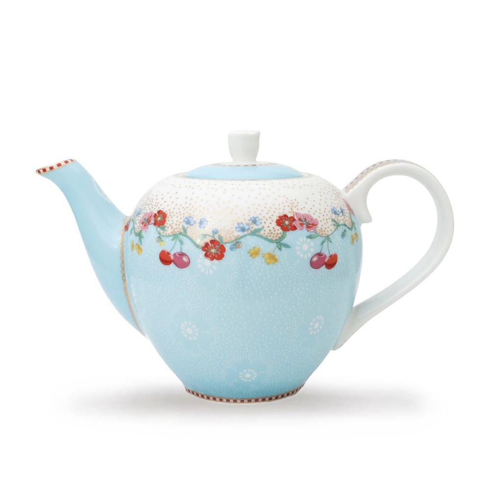 """Pieni teekannu """"Cherry"""" sininen"""