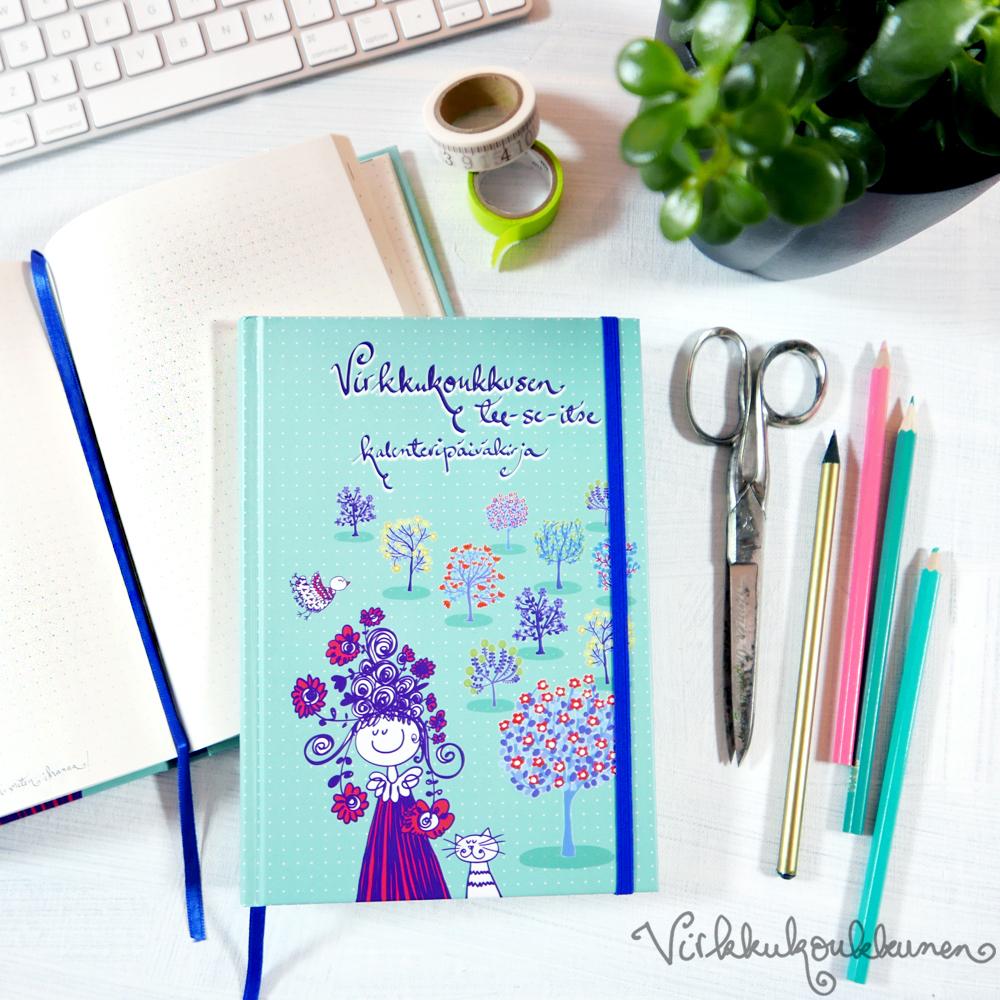 Tee-se-itse -kalenteripäiväkirja