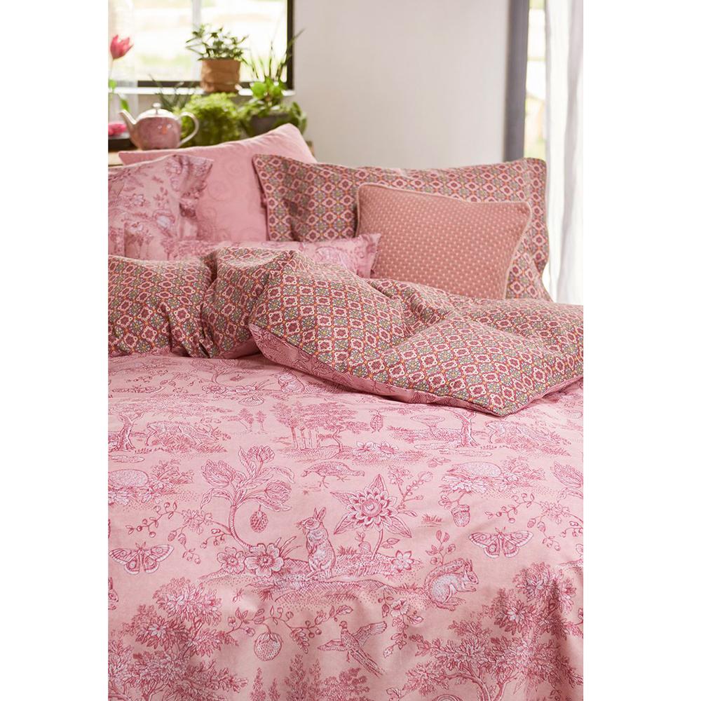 """Tyyny """"Cosy"""" 45 x 45 cm pinkki"""