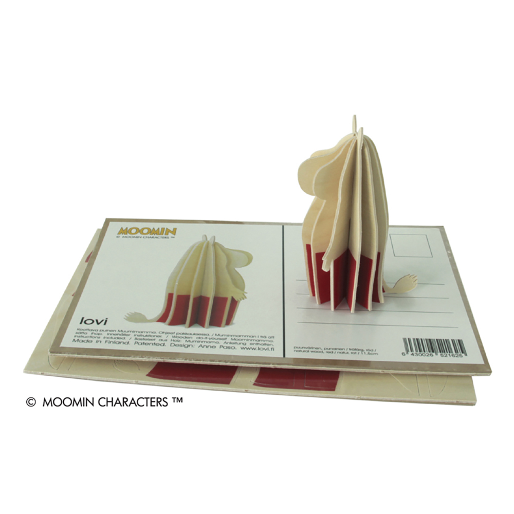 3D-palapelikortti Muumimamma 11,5 cm