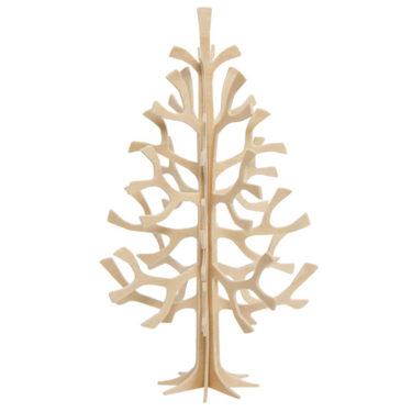 3D-palapelikortti puun värinen kuusi 14 cm