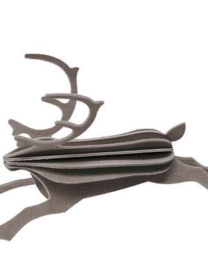 3D-palapelikortti poro 12 cm